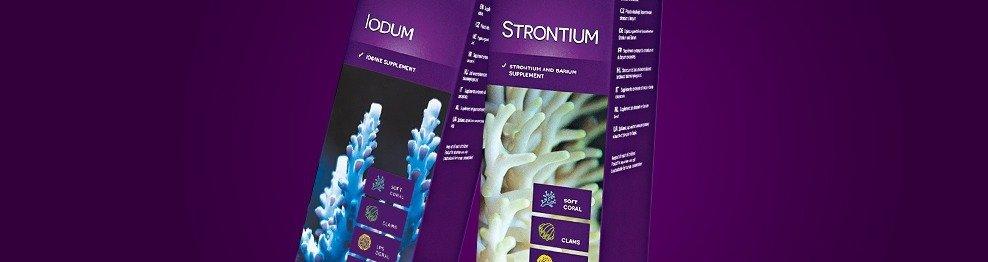 Micro-éléments pour la croissance du corail
